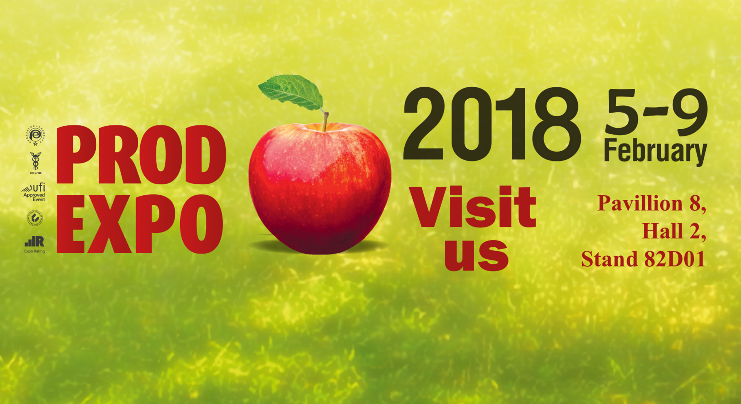 PRODEXPO 2018, MOSCOW – International Food Exhibition