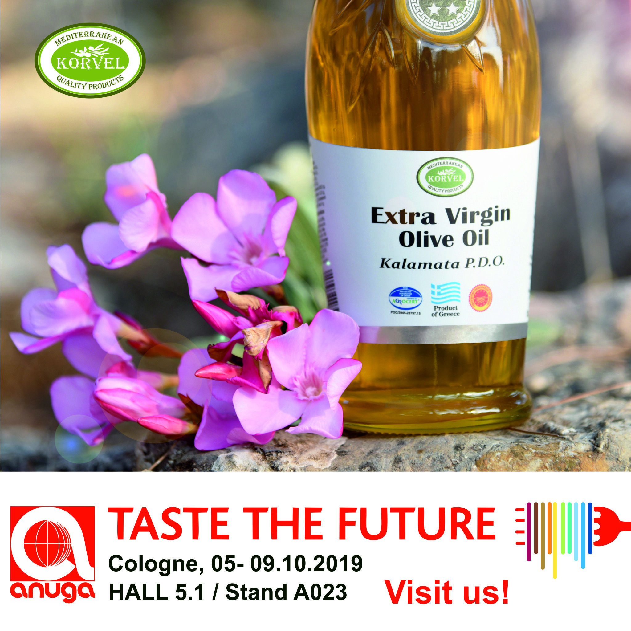 The Anuga 2019 in just a one month!